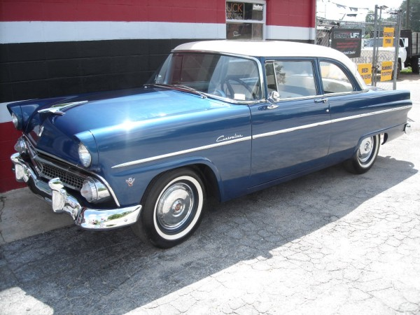 1955 ford customline 4 door pictures to pin on pinterest for 1955 ford customline 2 door